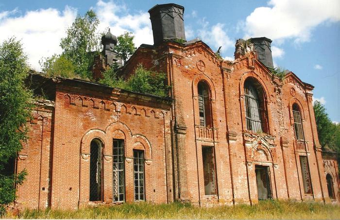 благовещенский храм с. Ильинское