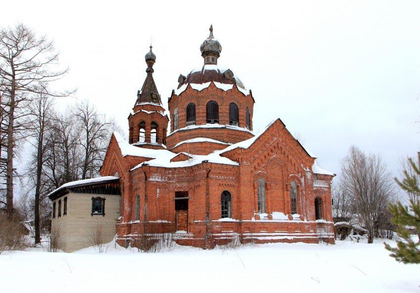 Сырчаны.Церковь Вознесенья Господня